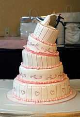 Prince Williams Wedding Cake