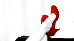 Lawsuit over red shoes