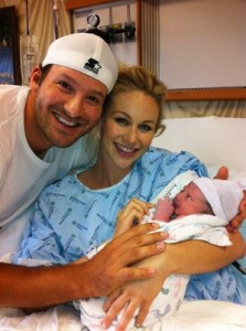 Tony Romo Baby Boy Hawkins
